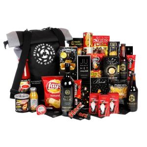 Unieke en aparte kerstpakketten goedgevuld met eten en drinken