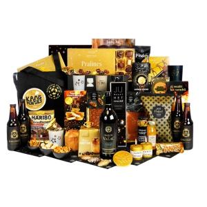 Luxe en bijzondere kerstpakketten vol met allerlei drank en lekker eten
