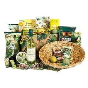 Groot Oosters kerstpakket met heerlijke producten om mee te wokken