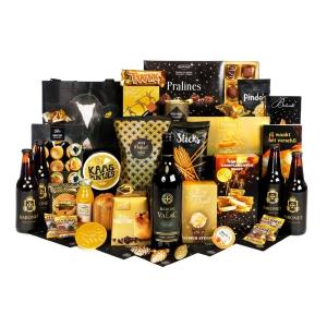 Luxe kerstpakket met champagne voor oudejaarsavond