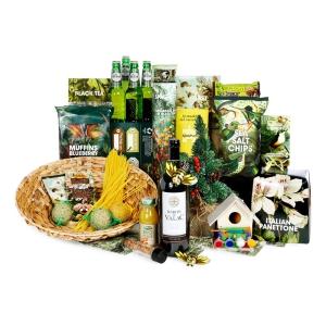 Kerstpakket met gezonde producten