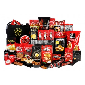 Luxe kerstpakket voor mannen vol met stoere producten