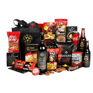 Bijzondere en unieke kerstpakketten vol met lekkere drank en etenswaren