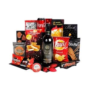 Foodpakketten met heerlijk eten en drinken