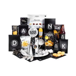 Variërende producten in een feestpakket